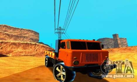 GAZ 66 Cáucaso para GTA San Andreas