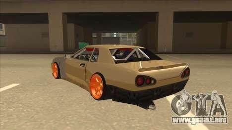 Elegy K22 King Swap para GTA San Andreas vista hacia atrás