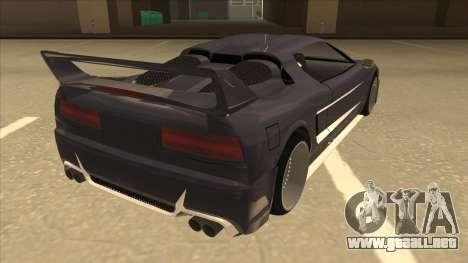 DoTeX Infernus V6 History para la visión correcta GTA San Andreas