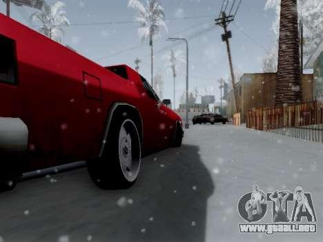 Picador V8 Picadas para GTA San Andreas vista hacia atrás