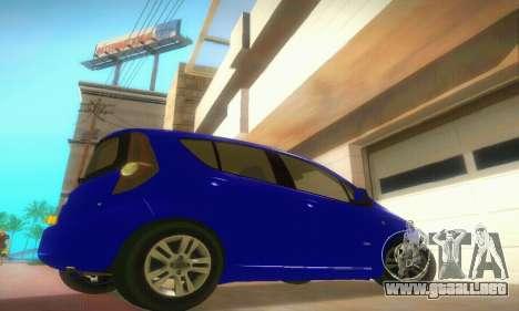 Vauxhall Agila 2011 para la visión correcta GTA San Andreas
