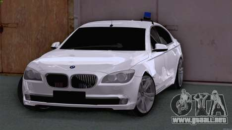 BMW 750i FSB para GTA San Andreas left