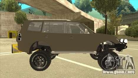 Mitsubishi Montero EDVARD [ERICK] para GTA San Andreas vista posterior izquierda