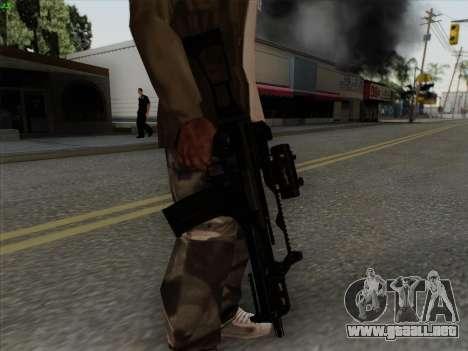 HK-G36C para GTA San Andreas sucesivamente de pantalla