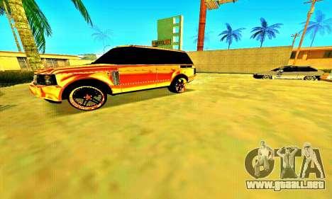 Land Rover Range Rover para GTA San Andreas left