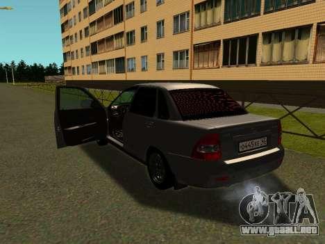 Lada 2170 para GTA San Andreas left