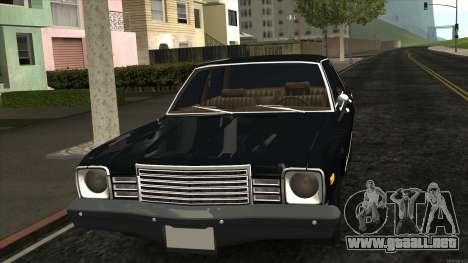 Ford Aspen 1979 para GTA San Andreas left