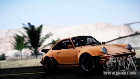 Porsche 911 Turbo 3.3 Coupe 1982 para GTA San Andreas left
