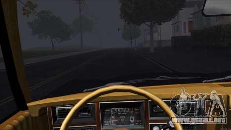 Ford Aspen 1979 para visión interna GTA San Andreas