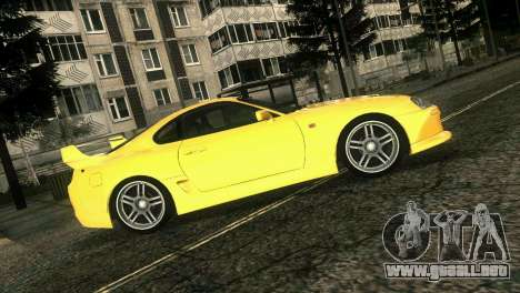 Toyota Supra TRD para GTA Vice City vista posterior