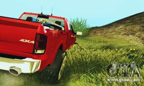 Dodge Ram 2500 HD para la visión correcta GTA San Andreas