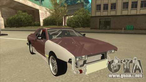 Elegy Drift Missile para GTA San Andreas left