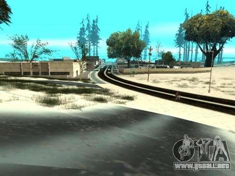 Invierno v1 para GTA San Andreas undécima de pantalla
