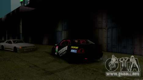 Toyota Altezza para la vista superior GTA San Andreas