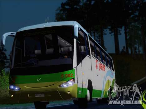 Irizar Mercedes Benz MQ2547 Super Five S 002 para la vista superior GTA San Andreas