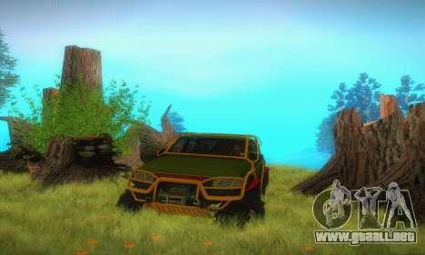 UAZ Patriot camioneta para vista lateral GTA San Andreas
