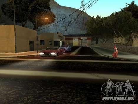 Invierno v1 para GTA San Andreas sexta pantalla