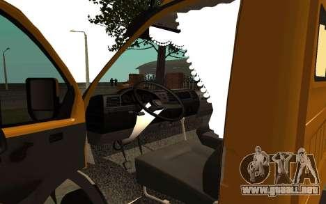 33022 Gacela negocios para GTA San Andreas vista hacia atrás