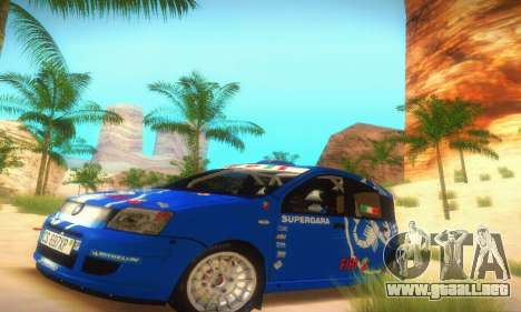 Fiat Panda Rally para GTA San Andreas left