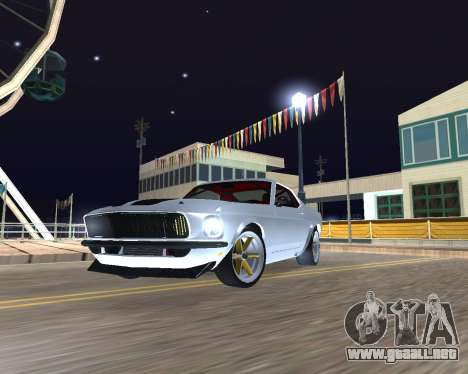 Ford Mustang Anvil para GTA San Andreas left