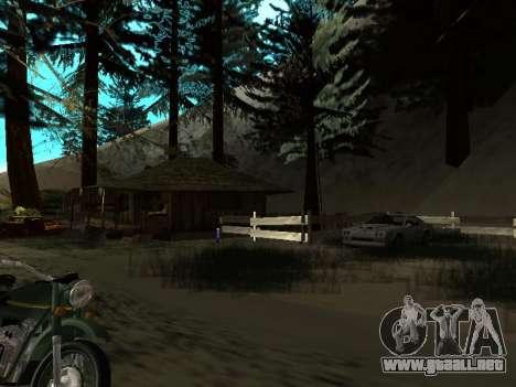 Invierno v1 para GTA San Andreas novena de pantalla