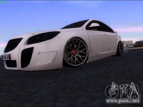 Opel Insignia para GTA San Andreas left