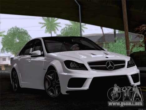 Mercedes-Benz C 63 AMG para GTA San Andreas