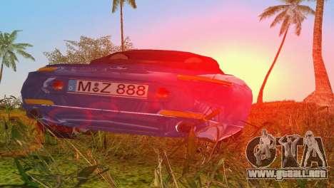 BMW Z8 para GTA Vice City vista superior