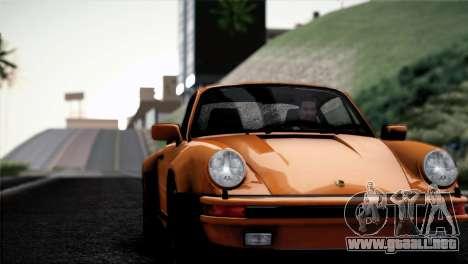 Porsche 911 Turbo 3.3 Coupe 1982 para visión interna GTA San Andreas