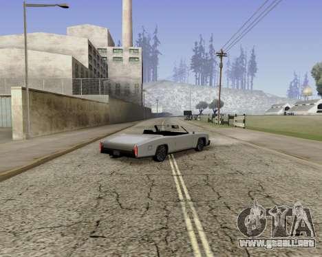 Buccaneer (beta) para GTA San Andreas left