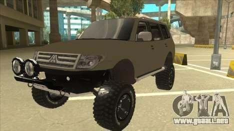 Mitsubishi Montero EDVARD [ERICK] para GTA San Andreas