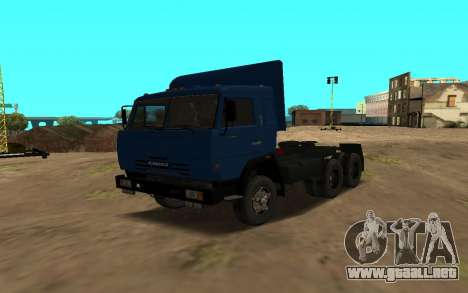 KAMAZ 54115 para vista lateral GTA San Andreas
