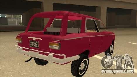 Fiat 1500 Familiar para la visión correcta GTA San Andreas