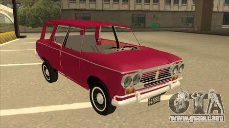 Fiat 1500 Familiar para GTA San Andreas left