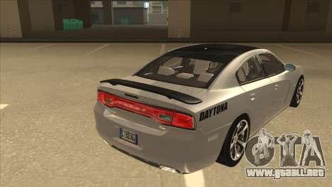 Dodge Charger RT Daytona 2011 V1.0 para la visión correcta GTA San Andreas