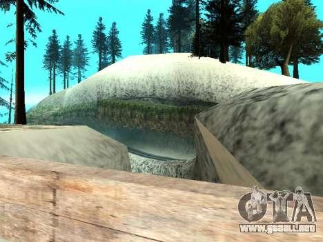 Invierno v1 para GTA San Andreas twelth pantalla