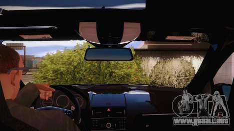 Mercedes-Benz C 63 AMG para vista lateral GTA San Andreas
