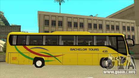 Kinglong XMQ6126Y - Bachelor Tours 435 para GTA San Andreas vista posterior izquierda