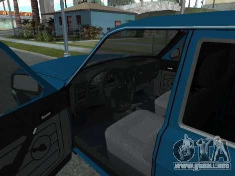 GAS 311052 para GTA San Andreas vista hacia atrás