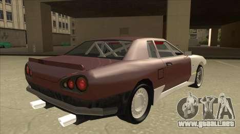 Elegy Drift Missile para la visión correcta GTA San Andreas