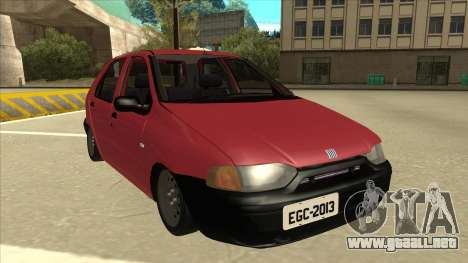 1997 Fiat Palio EDX Edit para GTA San Andreas left