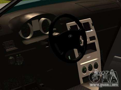 Lada 2170 para GTA San Andreas vista posterior izquierda