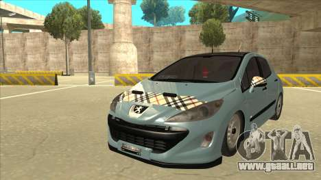 Peugeot 308 Burberry Edition para GTA San Andreas
