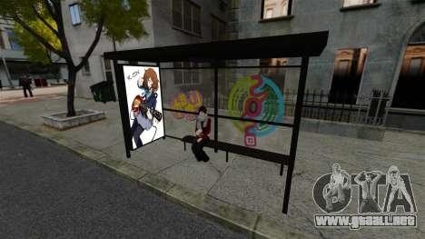 Animación japonesa para GTA 4 tercera pantalla