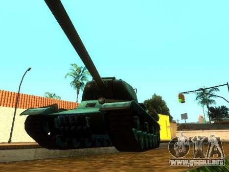El es-2 para GTA San Andreas vista hacia atrás
