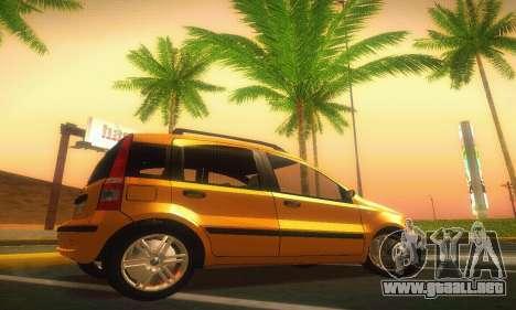 Fiat Panda Taxi para GTA San Andreas left