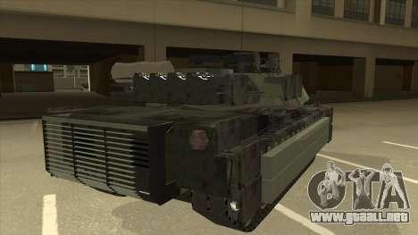 M69A2 Rhino Bosque para la visión correcta GTA San Andreas