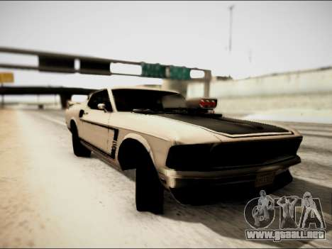 Ford Mustang Boss 302 1969 para GTA San Andreas left
