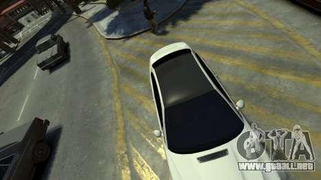 BMW M3 E46 para GTA 4 vista hacia atrás