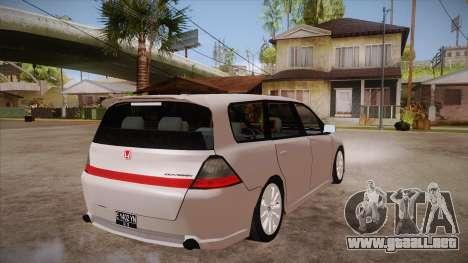 Honda Odyssey v1.5 para la visión correcta GTA San Andreas